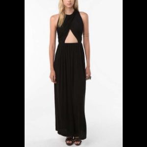 Urban Outfitters Cut Out Maxi Dress